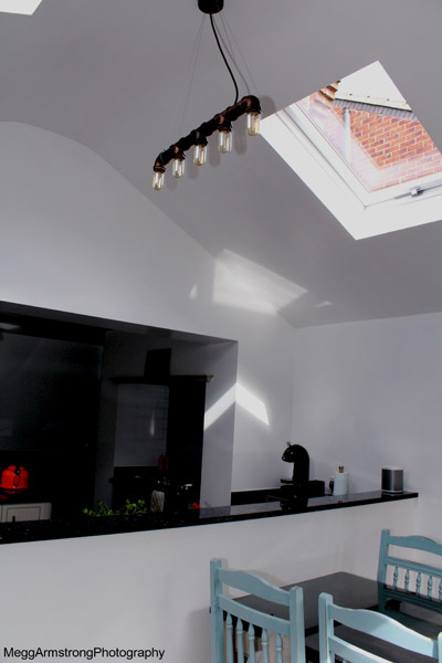 Interior View inside of new single storey extension in Hull