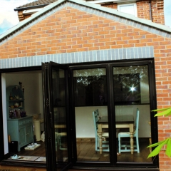 Exterior View to a brand new single storey extension in Hull