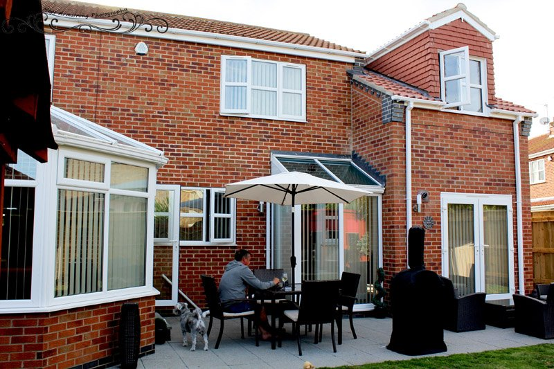 Exterior of Side Extension - Annexe Beverley