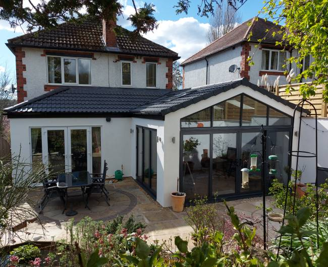 Single storey extension project